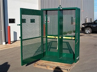 CUSTOM MATERIAL CAGE, GAS CYLINDER CAGE, CYLINDER RACK, CYLINDER BOTTLE HOLDER