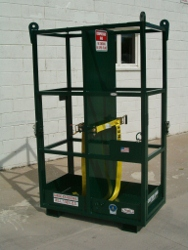 CYLINDER RACK CAGE, OSHA 30 MIN. BURN THRU TIME
