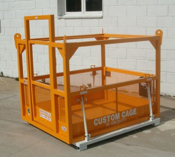 M-44s Custom Cage Manbasket with Test Weight