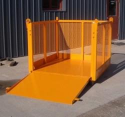 custom material cage debris box material lifting cage