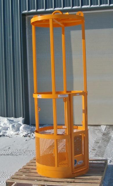 round manbasket, crane lfiting cage, personnel basket