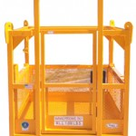 Crane suspended lifting cage for personnel / manbasket, man basket, personnel cage