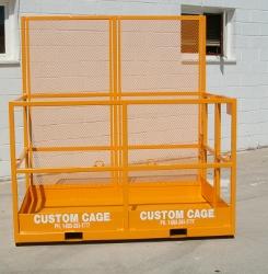 FL-466 Custom Cage Forklift Platform, work platform / Manbaskets / Man Baskets