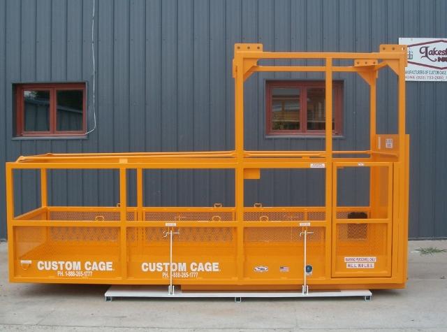 cantilever work platform, counter lever platform, cantilever work cage, manbasket, work platform