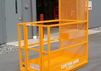 FL-353 FORKLIFT PLATFORM/ MANBASKET, Custom Cage Manbasket / Man Basket, Crane Suspended Cage, Personnel Lifting Cage, Work Platform, Lifting Basket, Work Cage, Man Working Cage