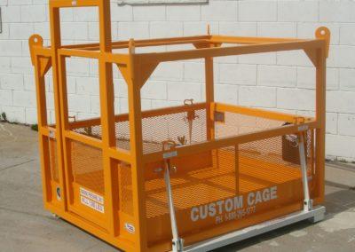 M-455 S Custom Cage Manbasket / Man Basket, Crane Suspended Cage, Personnel Basket, Lifting Cage, Work Platform
