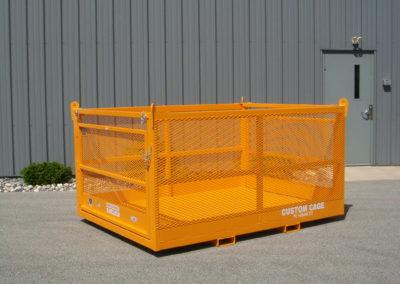 M-68 M, manbaskets, man baskets, custom crane cages,custom forklift baskets,lakeshore industrial, material handling basket
