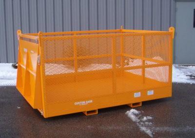 Model M-68 Custom Material Cage, manbaskets